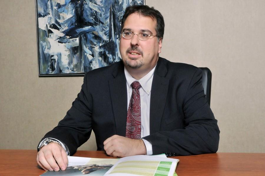 Éric Filion, directeur principal, développement, commercialisation et stratégiesd'investissement,épargne-retraite... (PHOTO FOURNIE PAR DESJARDINS)