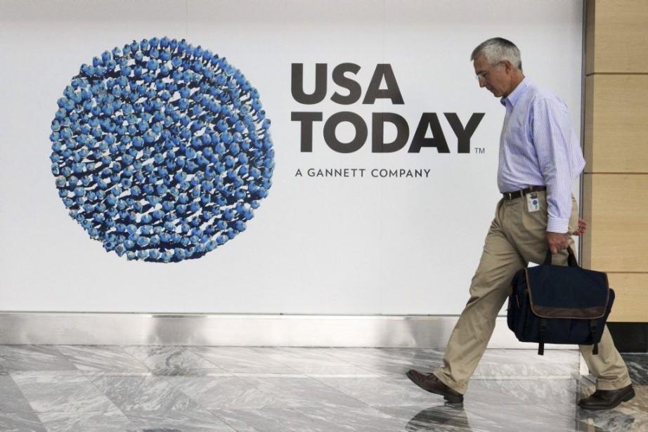 USA Todayest l'un des quotidiens les plus importants... (PHOTO PAUL J. RICHARDS, AFP)