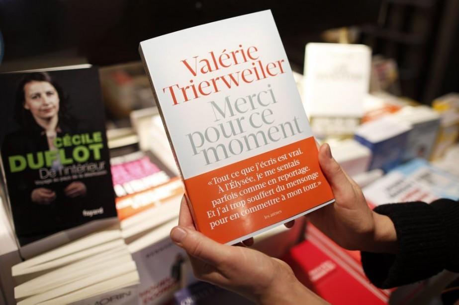 Le livre choc de Valérie Trierweiler Merci pour ce... (Photo: Reuters)