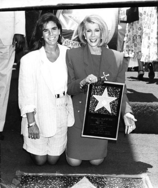 Joan Rivers et sa fille. (Photo: tirée de Facebook)