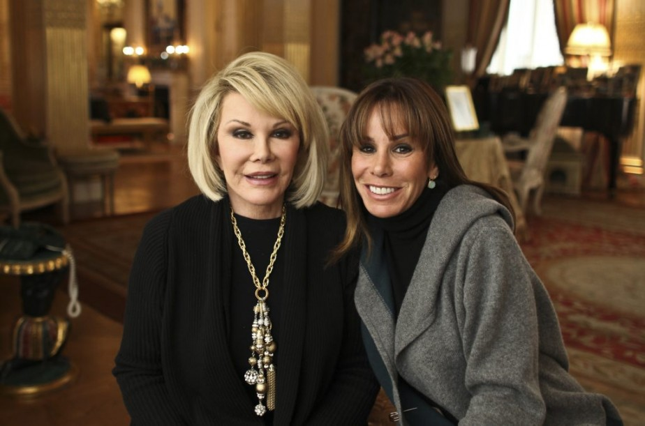 Joan Rivers et sa fille Melissa en janvier 2011. (Photo: archives The New York Times)