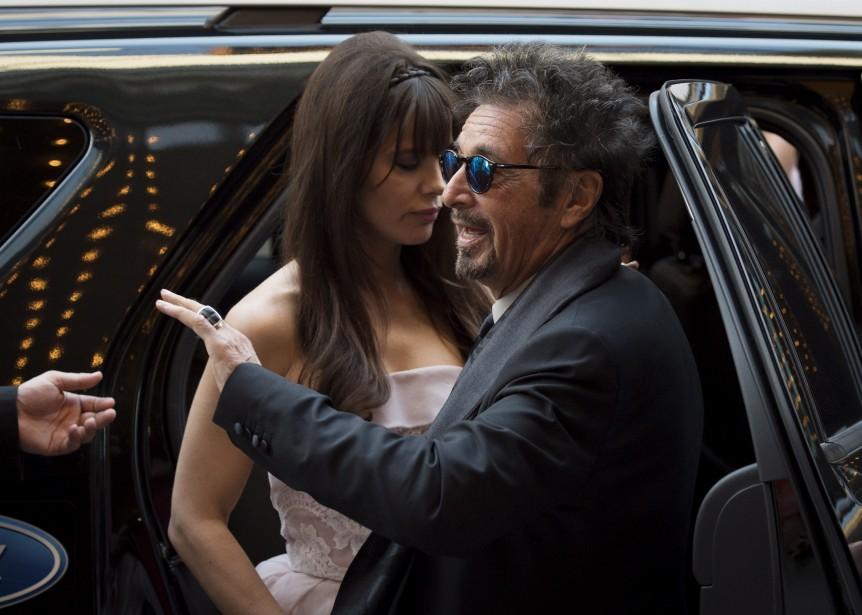 Jour 1 - Al Pacino et sa compagne Lucila Sola (Photo PC)