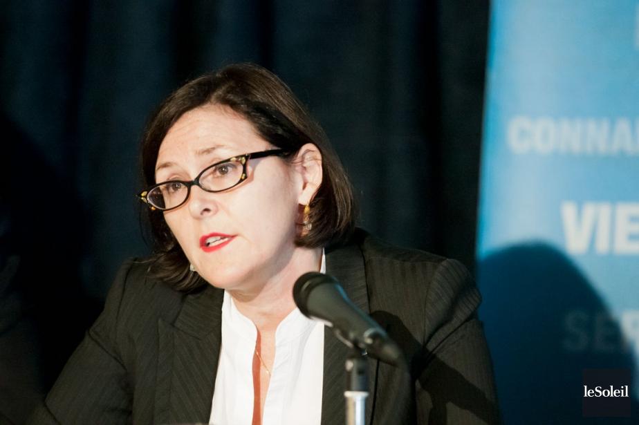 La présidente de la Fédération des médecins spécialistes,... (Photothèque Le Soleil)