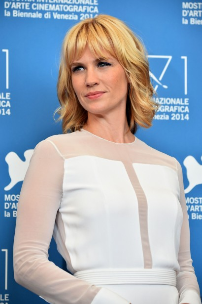 Jour 10 - January Jones, vedette du film <em>Good Kill</em>. (Photo: AFP)