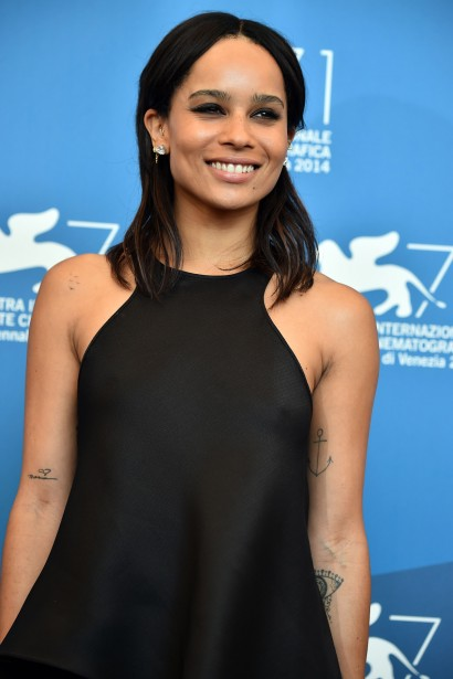 Jour 10 - Zoe Kravitz, fille de Lenny Kravitz, vedette du film <em>Good Kill</em>. (Photo: AFP)