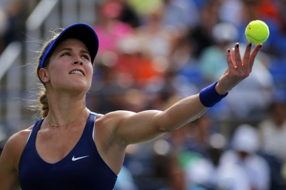 Eugenie Bouchard a subi la défaite contre Ekaterina... (PHOTO EDUARDO MUNOZ, REUTERS)