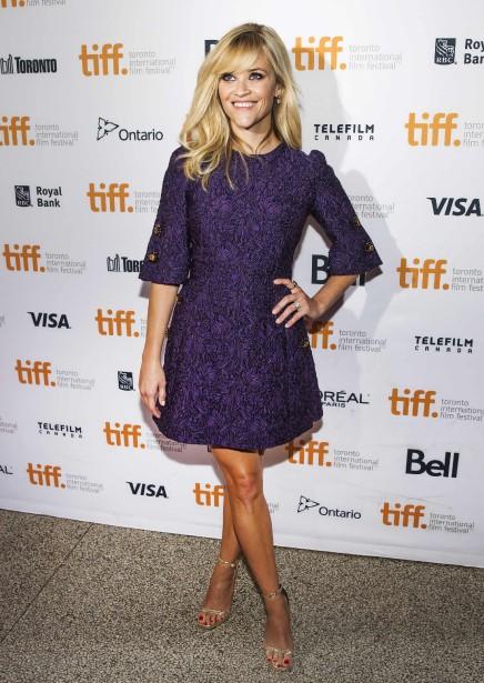 Jour 4 -Reese Witherspoonà la première de The Good Lie (PHOTO MARK BLINCH, REUTERS)