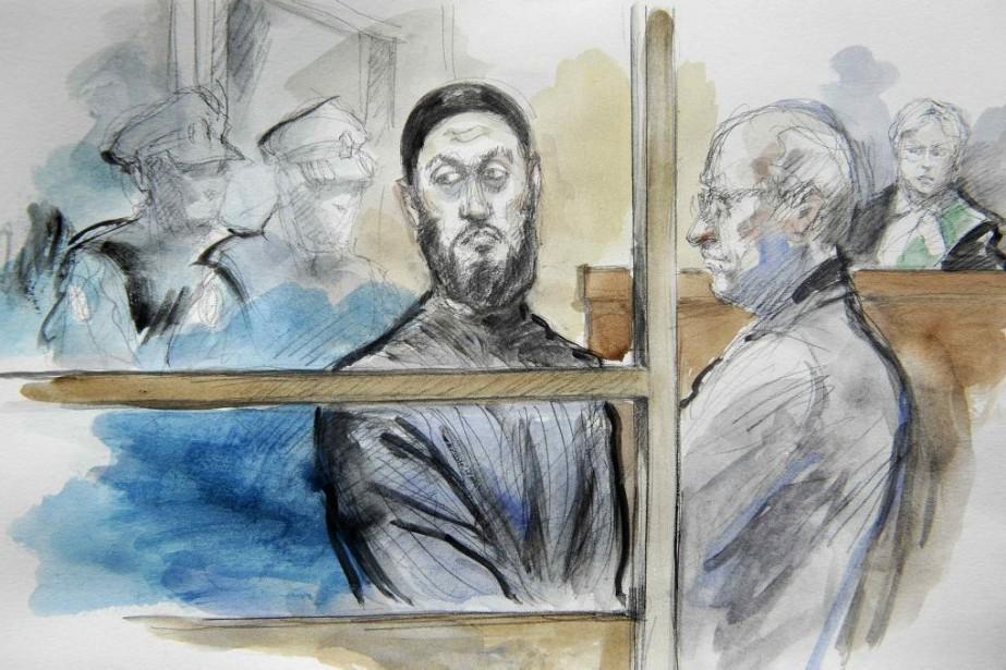 Raed Jaser (illustration) et son complice Chiheb Esseghaier,... (ILLUSTRATION REUTERS)