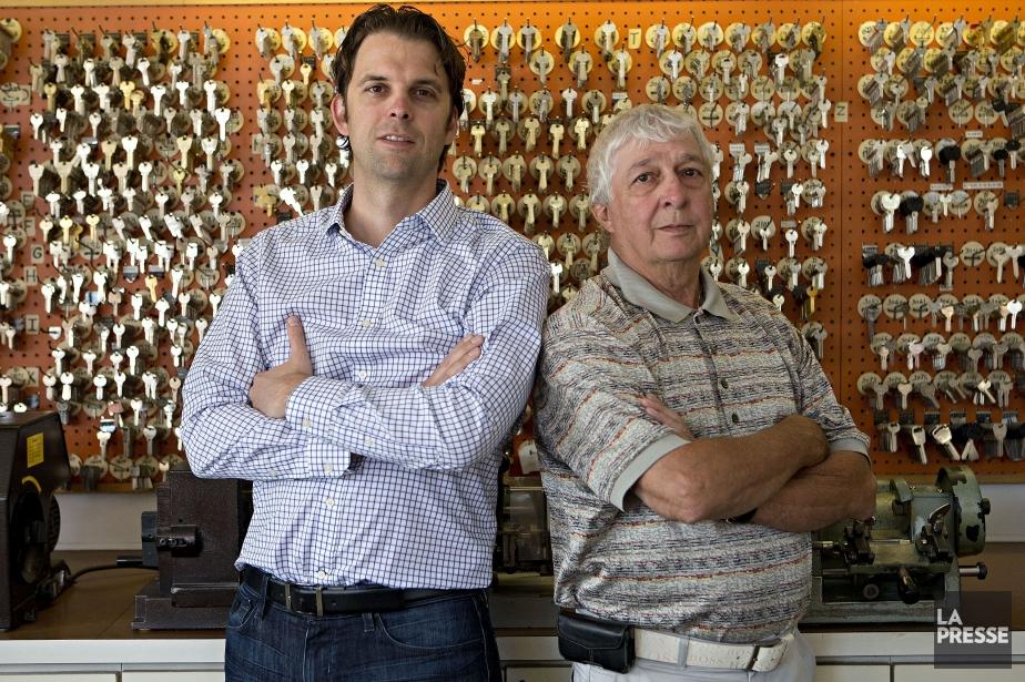 Il y a peu de temps, l'entreprise familiale... (Photo Patrick Sanfaçon, La Presse)