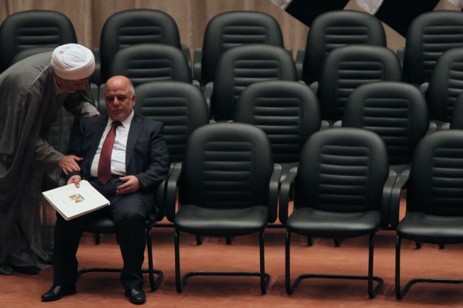 Plaçant fermement son gouvernement sous le signe de... (Photo AHMAD AL-RUBAYE, AFP)