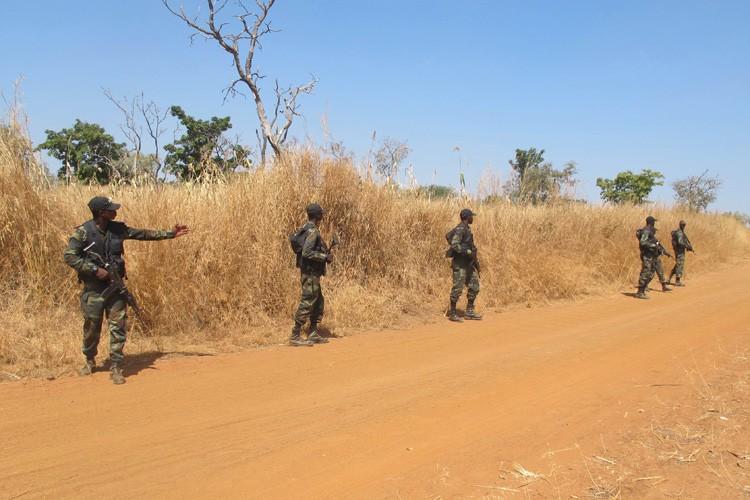 Des soldats d'élite du Cameroun photographiés en décembre... (Archives AFP)