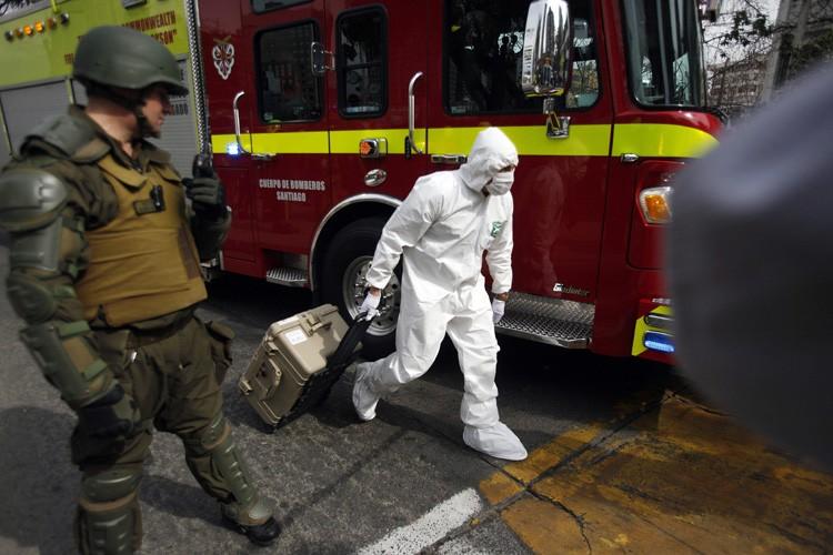 Plus d'une centaine d'explosions d'engins explosifs improvisés se... (Photo: AP)