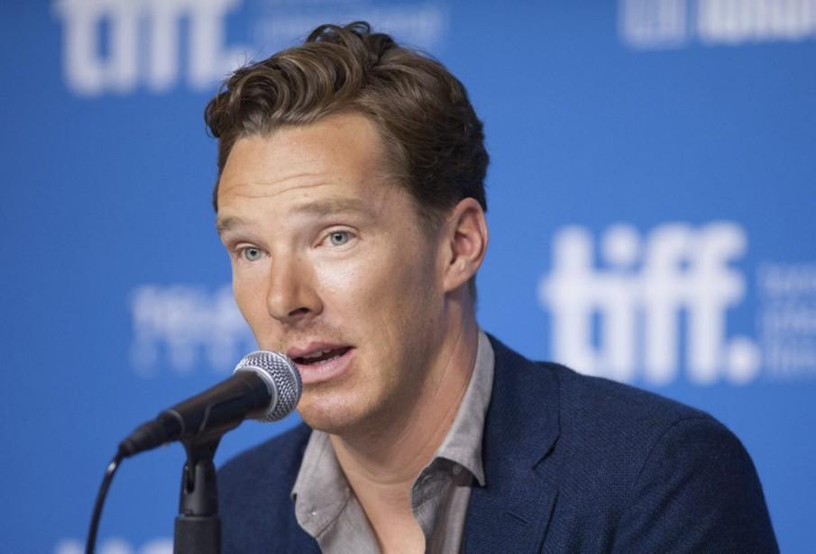 Jour 6 - Benedict Cumberbatch, vedette de <em>The Imitation Game</em>. (Photo: La Presse Canadienne)