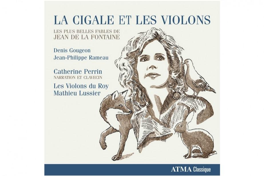 Transposition au disque d'un concept de spectacle, La cigale est les violons...