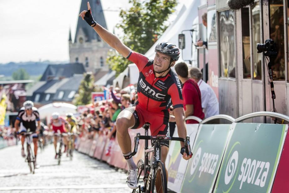 Greg Van Avermaet a remporté la cinquième étape... (Photo archives AFP)