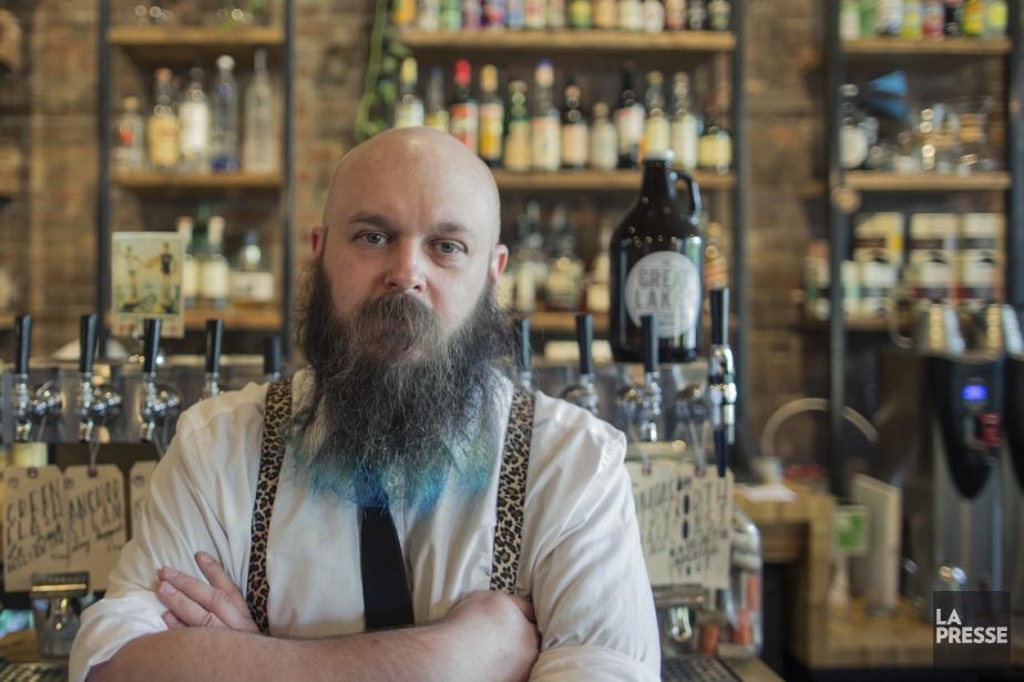À la fois café et bar, The Great... (PHOTO EDOUARD PLANTE-FRÉCHETTE, LA PRESSE)