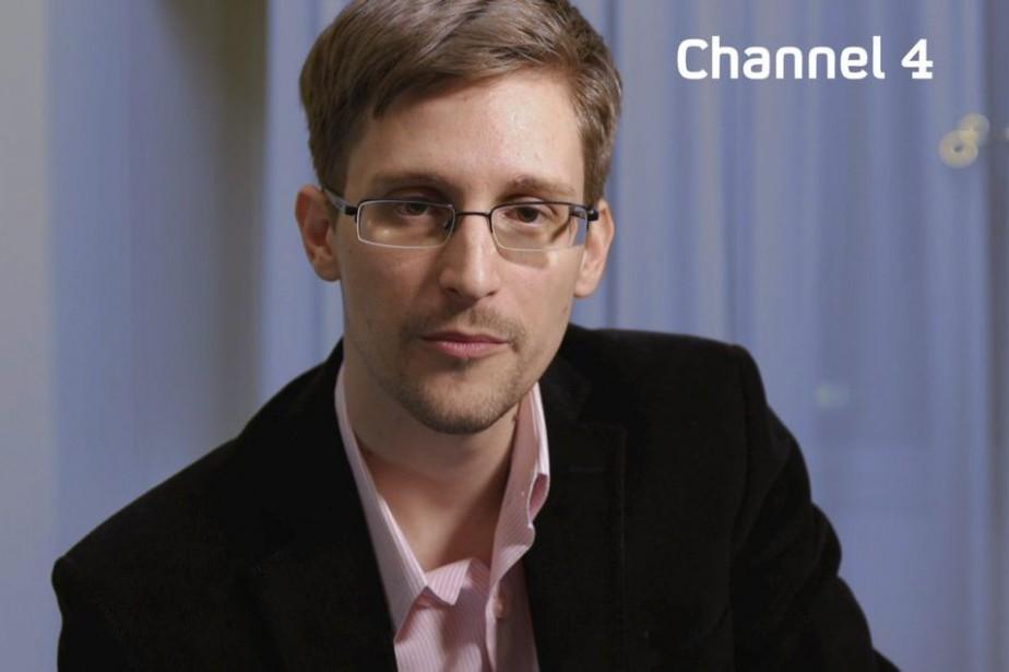 L'ex-consultant de la NSA, Edward Snowden.... (PHOTO ARCHIVES AGENCE FRANCE-PRESSE/CHANNEL 4)