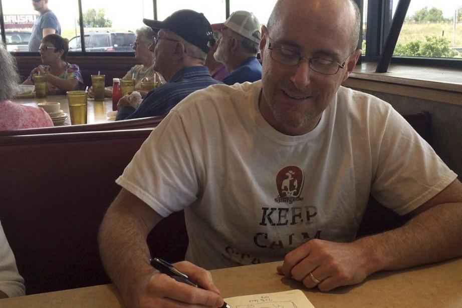 Jeffrey Hare, le chef de l'initiative 51st State... (Photo Alexander Panetta, PC)