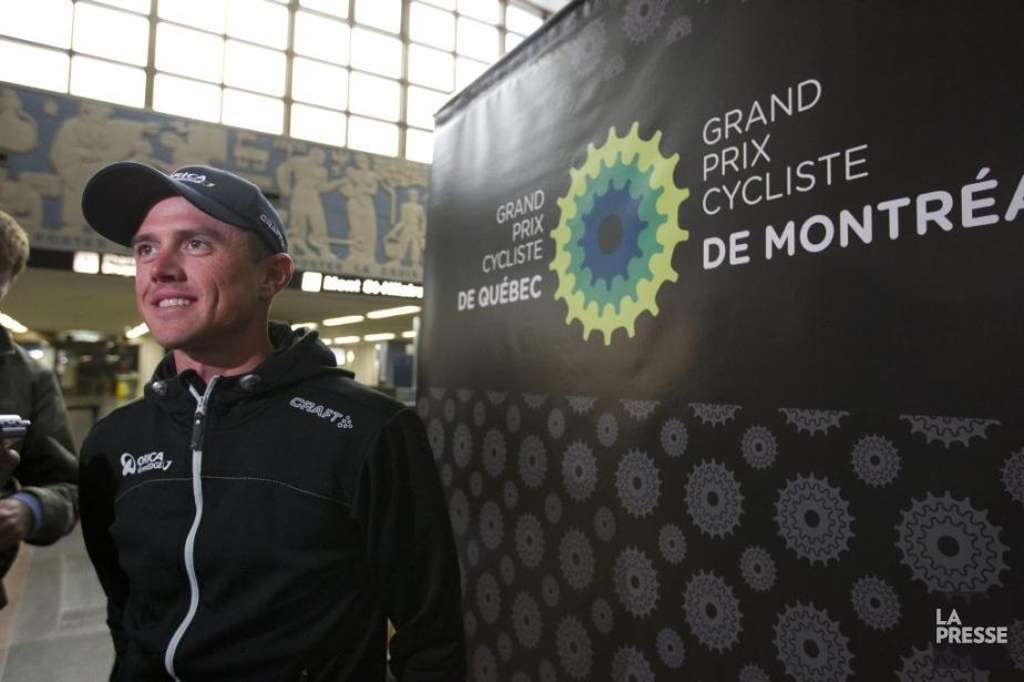 Après avoir remporter leGrand Prix cycliste de Québec... (PHOTO OLIVIER JEAN, LA PRESSE)