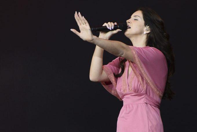 Lana Del Rey... (Photo: archives AFP)
