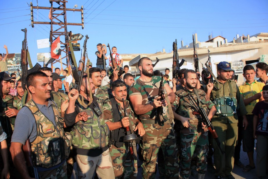 Depuis quelques semaines, le régime syrien mène des... (Photo Archives AFP)