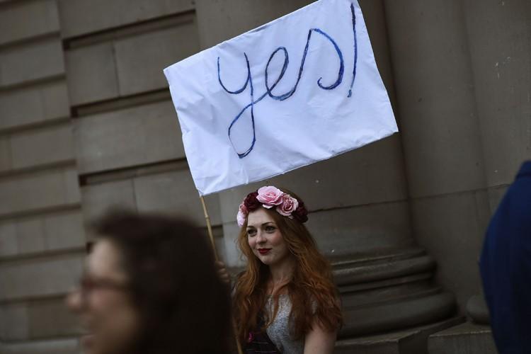 Bien qu'incertain du résultat qui sortira des urnes,... (Photo: Reuters)