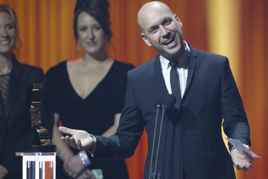 Martin Matte a gagné le prix du meilleur premier rôle masculin dans une comédie pour<em>Les beaux malaises</em>. (Olivier Jean, La Presse)