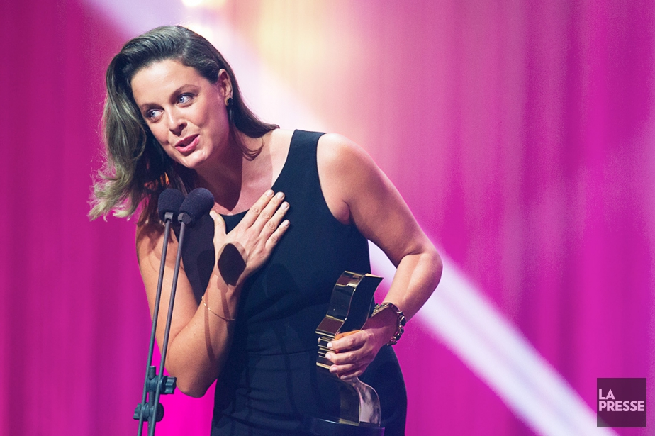 Julie Le Breton est finaliste dans plus d'une... (Photo Olivier Jean, archives La Presse)