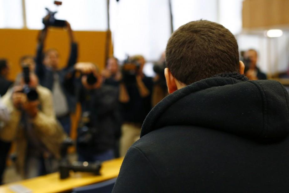 Kreshnik B., 20 ans, né en Allemagne au... (PHOTO THOMAS KIENZLE, AFP)