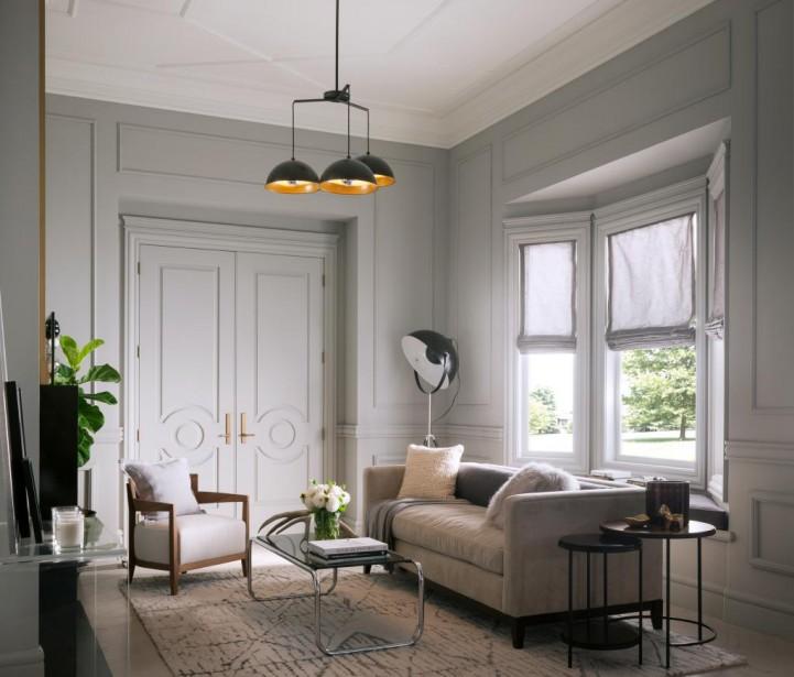 Metrie offre une grande variété d'éléments de finition, comme des moulures et des portes intérieures. On peut découvrir les dernières collections de cette entreprise canadienne lors du Circuit Index-Design Montréal. (PHOTO FOURNIE PAR METRIE)