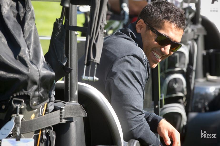 Francis Bouillon a participé au tournoi de golf... (Photo Ivanoh Demers, La Presse)