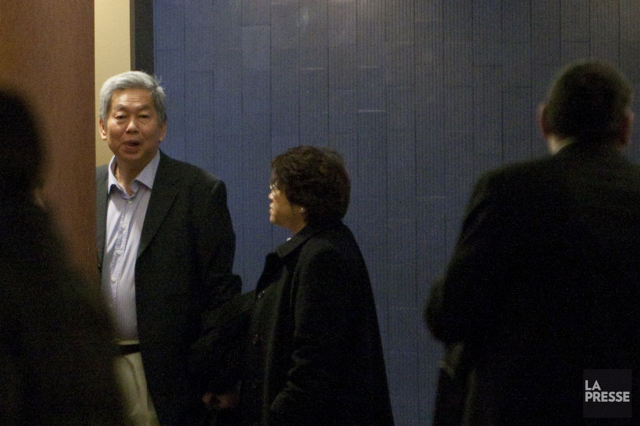 Chun Sy Venq (à gauche) et sa femme... (Photo archives La Presse)