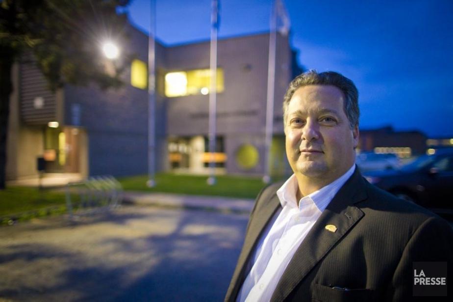 René Labrie, président de la commission scolaire des... (PHOTO ANDRÉ PICHETTE, LA PRESSE)