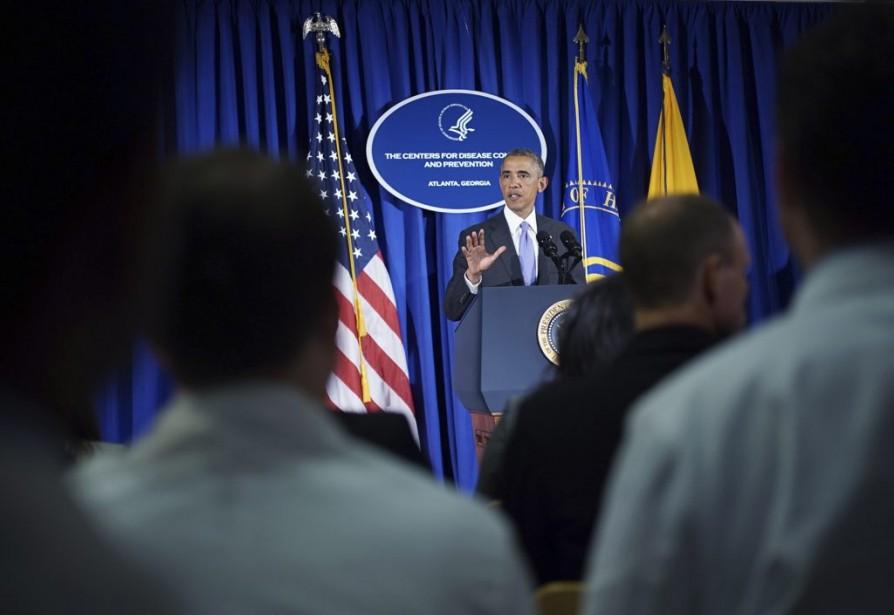 À l'issue d'une rencontre dans le Bureau ovale,... (Photo archives AFP)