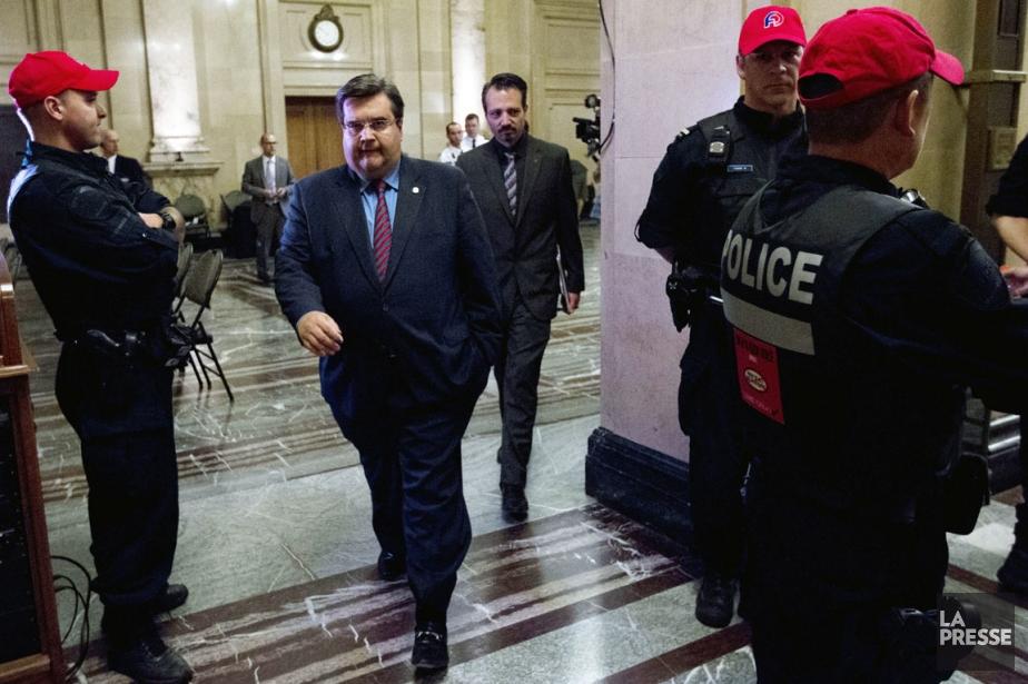 Le SPVM a confirmé que la protection du... (Photo Olivier Jean, archives La Presse)