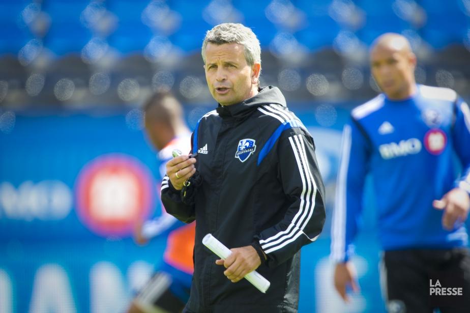L'entraîneur de l'Impact de Montréal, Frank Klopas.... (Photo André Pichette, archives La Presse)