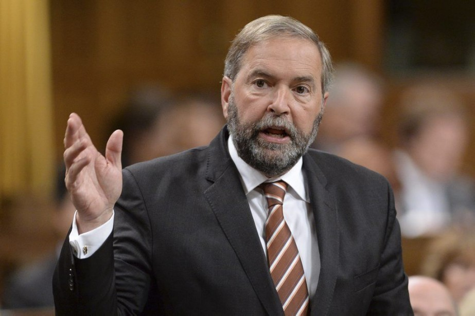 Thomas Mulcair... (PHOTO SEAN KILPATRICK, LA PRESSE CANADIENNE)