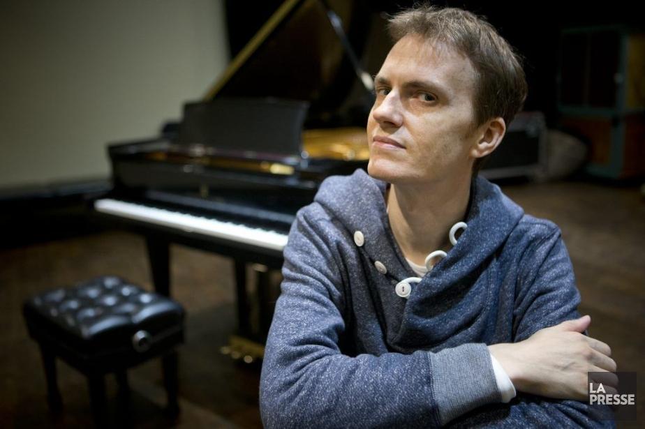 Le pianiste Alexandre Tharaud, associé aux Violons du... (Photo: Patrick Sanfaçon, La Presse)