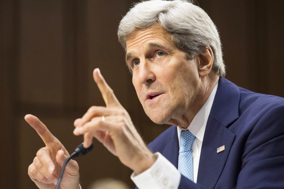 Le secrétaire d'État américain John Kerry.... (PHOTO JOSHUA ROBERTS, ARCHIVES REUTERS)