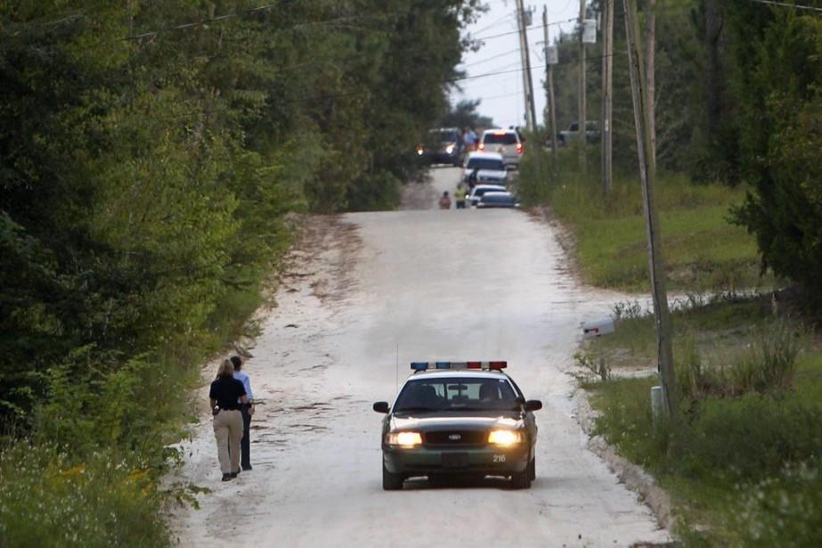 La fusillade s'est déroulée dans la petite localité... (Photo AP)