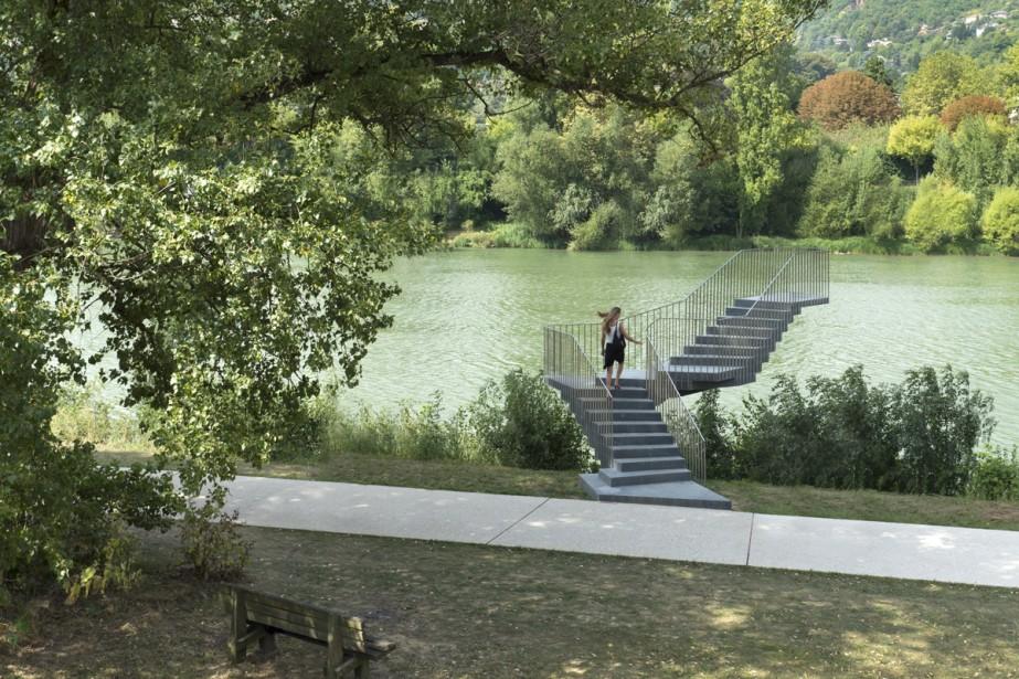 Beautiful Steps # 7, Lang/Baumann.... (Photo: fournie par Arter)
