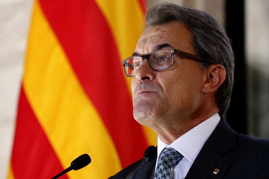 Le président Artur Mas veut convoquer les Catalans... (PHOTO GUSTAU NACARINO, ARCHIVES REUTERS)