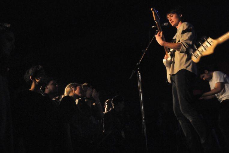 De ces jeunes mecs qui composent le groupe... (Photo Cindy Lopez, fournie par Pop Montréal)