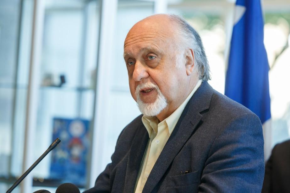 Le président du Conseil de la souveraineté du... (PHOTO ULYSSE LEMERISE, COLLABORATION SPÉCIALE)
