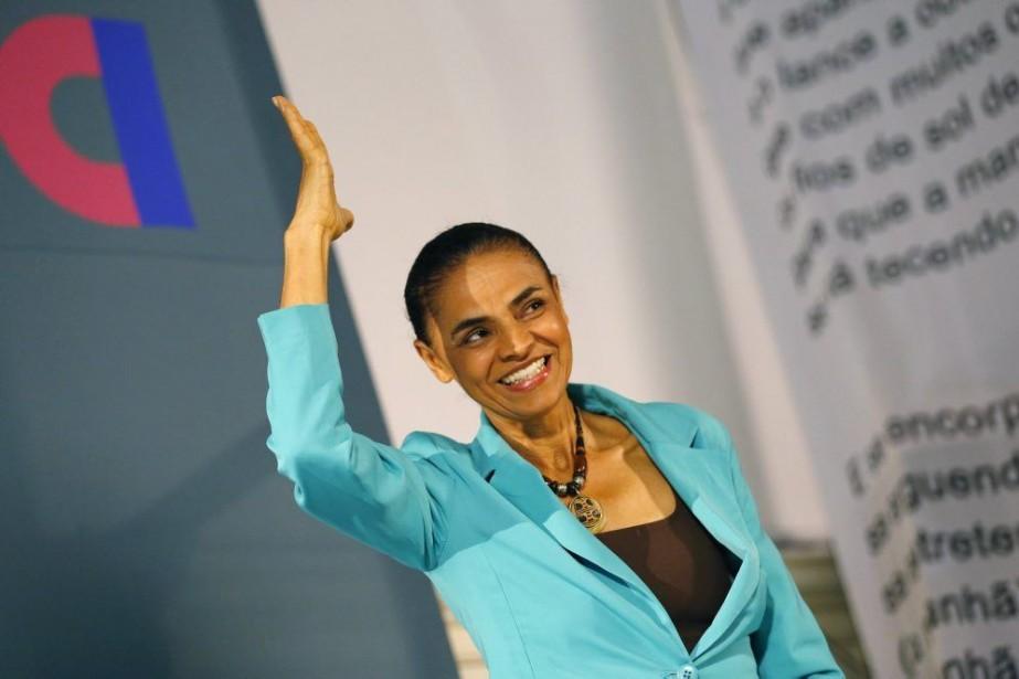 Marina Silva, ancienne membre du PT, avait déjà... (PHOTO RICARDO MORAES, REUTERS)