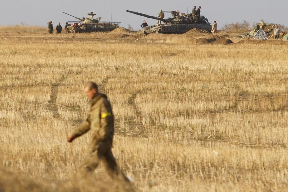 L'armée ukrainienne affirme avoir commencé à mettre en... (PHOTO ANATOLII STEPANOV, ARCHIVES AFP)