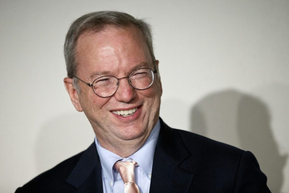 Le patron de Google, Eric Schmidt.... (Photo Daniel Ochoa de Olza, AP)