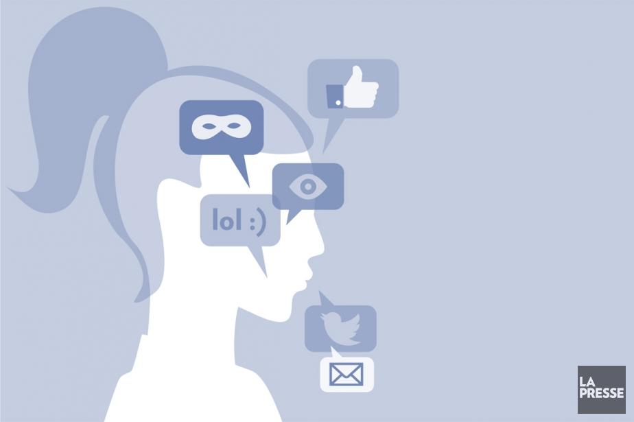 Patrick Lagacé a des milliers d'«amis» Facebook. Il... (INFOGRAPHIE LA PRESSE)