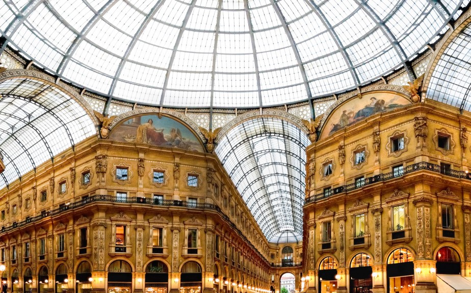 Les galeries marchandes foisonnent à Milan. (Photo Thinstock)