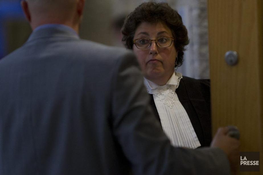 MeAnne-Marie Lanctôt représente l'accusé.... (PHOTO OLIVIER JEAN, LA PRESSE)